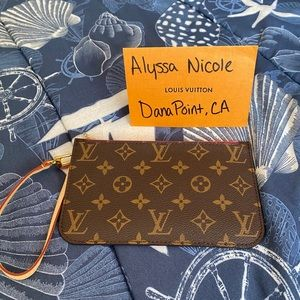Brand New Neverfull PM Pouch